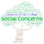 SSA Social Concerns logo
